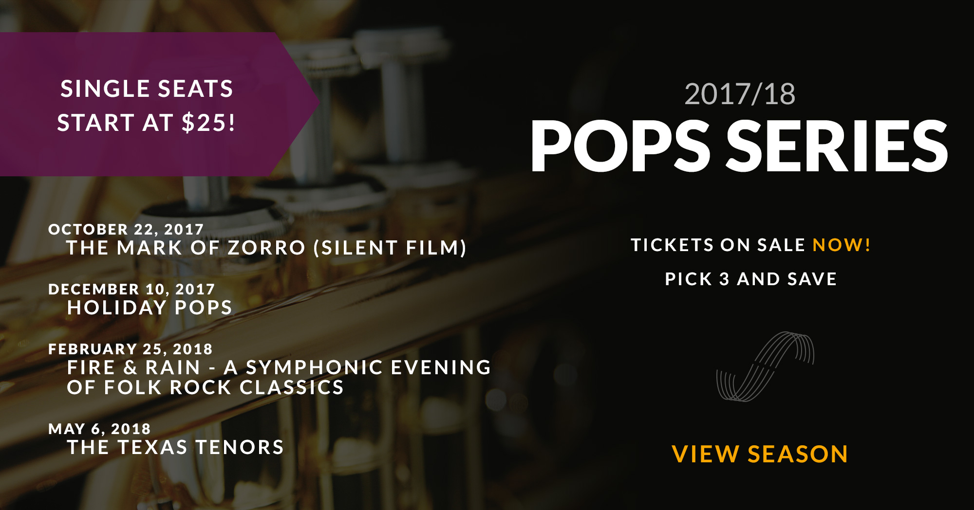 2017/18 Stockton Symphony POPS Series